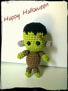 The little Frankenstein | AMIGURUMIES