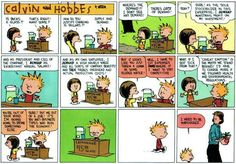 Calvin and Hobbes It seems everywhere you turn these days, politicians, newscasters, bloggers, etc., are talking about politics {and small business}. Well, here's a little humor to help us during the currently tense political environment. Copyright © by Bill Watterson LOL I love Calvin and Hobbes! Don't you?