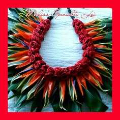 All For Love Creations by Malia & Ohana's media content and analytics Flower Lei, Flower Garlands, Hula, Hawaii Crafts, Tahitian Costumes, Hawaiian Flowers, Hawaiian Leis, Polynesian Dance, Ribbon Lei