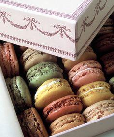 Je rêve des macarons chez Ladurée.