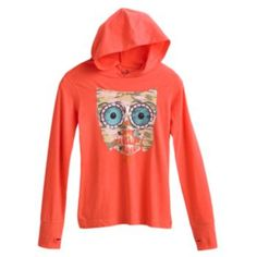 Mudd ''Love Is Owl You Need'' Hoodie Tee - Girls 7-16