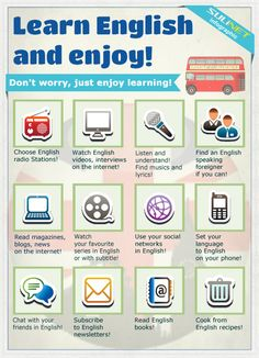 Learn English and enjoy!