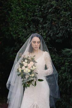 The Opulent Secret Garden Collection from Tania Maras Bridal 40 Ivory Wedding Veils, Headpiece Wedding, Wedding Dresses, Blush Bridal, Bridal Hair, Bridal Veils, Bridal Looks, Bridal Style, Veil Over Face