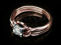 8efe124a532d1 479 Best PUZZLE RINGS images in 2018 | Celtic engagement rings ...