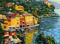 Harbor View 1990 by Howard Behrens