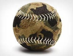 We play baseball in the army.