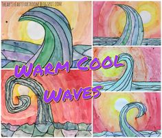 2nd Grade Warm and Cool Waves (2015)