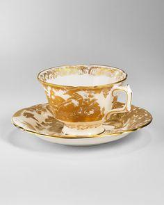 Gold Aves Dinnerware - Royal Crown Derby