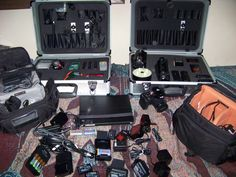 My ghost hunting gear