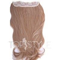 Trese De Par Blond Strawberry 27 Sample Extensii De Par Top Style