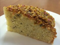 Pastry Cake, Piece Of Cakes, Something Sweet, Yummy Cakes, Food Inspiration, Banana Bread, Food And Drink, Tasty, Baking