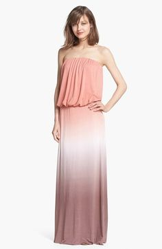 I want this!!!!  Young, Fabulous & Broke 'Sydney' Ombré Maxi Dress available at #Nordstrom