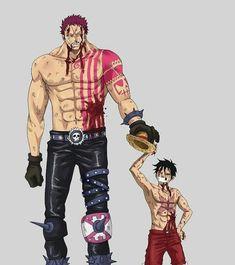 Luffy and Katakuri || One Piece #onepiece #op #animegirl #anime #manga #plusultra