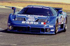 ブガッティEB110 SS @サルトサーキットル·マン24時間レース  1994