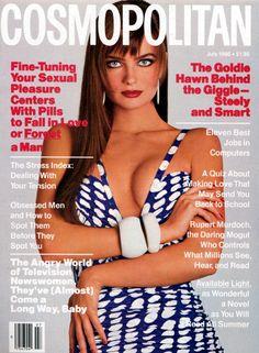 Cosmopolitan magazine, JULY 1986 Model: Paulina Porizkova Photographer: Francesco Scavullo