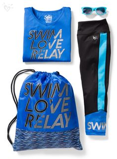 Then dive into our exclusive collection of activewear made for swimmers! Sporty Outfits, Athletic Outfits, Summer Outfits, Cute Outfits, Athletic Wear, Girls Fall Fashion, Tween Fashion, Dance Outfits, Girl Outfits