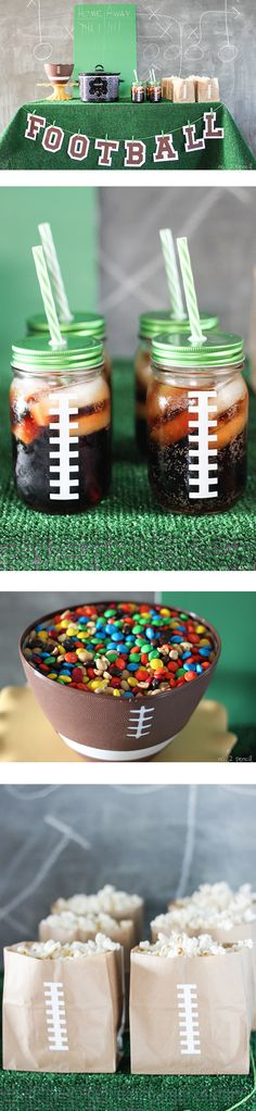 DIY Football Party Ideas with Cricut Explore