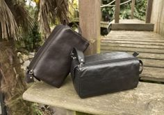 Black and Brown Style 917 Washbags