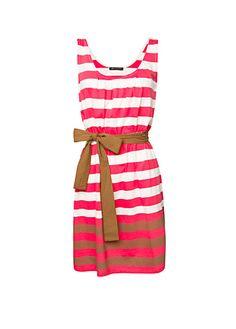 MANGO - CLOTHING - Striped cotton dress