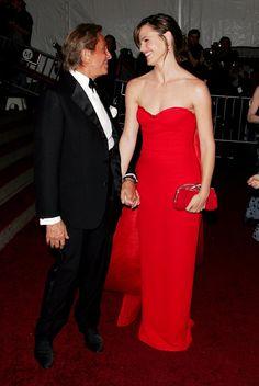 Pin for Later: 75 unvergessliche Momente der Met Gala Valentino und Jennifer Garner —2007