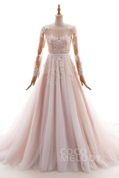 A-Line+Court+Train+Tulle+and+Lace+Wedding+Dress+LD4567  YOU WILL BE MINE!