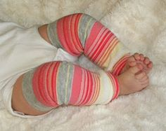 baby leg warmers from adult size socks