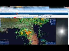 4/22/2012 -- Florida Tornado watches, hail -- damaging winds detected in GA, SC, NC Be aware in the states of Florida, Georgia, South Carolina, North Carolina... Damaging winds, and hail have been detected with several of these cells associated with this system centered over Florida.    In Florida directly.. the NWS has issued tornado watches throughout 3/4 of the state.. extending from the FL panhandle south/southeast to the Florida Keys.