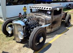 rat rod trucks and cars Cool Trucks, Big Trucks, Cool Cars, Dodge Trucks, Pickup Trucks, Dually Trucks, Diesel Trucks, Diesel Rat Rod, Semi Trucks