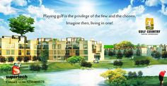 Premium high rise apartments that signify an elevated lifestyle!  #Golf #Village offers something for everyone. Choose to live in apartments which offer a panoramic view of a 9 hole #golf course designed by Graham Cooke on one side and forested area on the other. The semi furnished units are available in 1, 2 & 3 BHK options. A lavish lifestyle, that offers exclusive amenities!   To know more, visit - http://www.golf-village.co.in/index.html