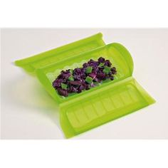 LEKUE Papillote en silicone Verte + grille - 2 personnes