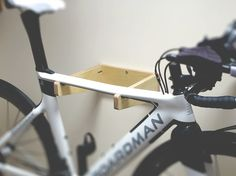 MAURAD is a birch plywood bicycle wall mount. Bicycle Wall Mount, Sustainability, Scandinavian, Inspired, Projects, Inspiration, Beautiful, Biblical Inspiration, Sustainable Development