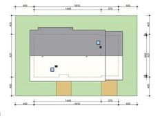DOM.PL™ - Projekt domu HP SMART C CE - DOM HP1-93 - gotowy koszt budowy Prefab, Home Goods, Floor Plans, How To Plan, Country Houses, Tiny Houses, Trendy Tree, Shed Houses, House