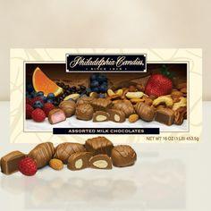 Philadelphia Candies Assorted Milk Boxed Chocolates - http://bestchocolateshop.com/philadelphia-candies-assorted-milk-boxed-chocolates/