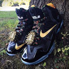 nike lebron 11 watch the throne mache 03 570x570 Nike LeBron 11 Watch The Throne by Mache Customs