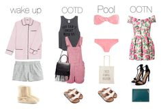 """""""How do you wear your pinks?"""" by lseed87 ❤ liked on Polyvore"""