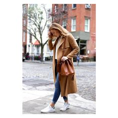 The Perfect Camel Coat found on Polyvore