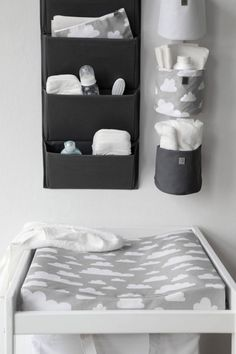 The Only Girl in the House Internet-Tagebuch gives great interiors inspiration for grey nursery, gray nursery, baby room, baby bedroom, kids bedroom. grey changing table with Farg Form scandi change mat. Baby Bedroom, Baby Boy Rooms, Baby Room Decor, Baby Boy Nurseries, Nursery Room, Room Baby, Bedroom Kids, Nursery Ideas, Baby Room Grey