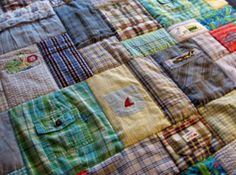T-shirt Quilts, Baby Clothes Memory Quilts