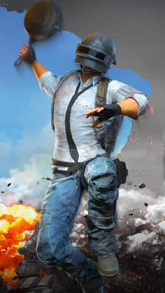 PUBG Helmet Guy Attacking With Pan Ultra HD Mobile Wallpaper pubg hero academia playerunknown battleground wallpaper anime Wallpapers Android, Hd Wallpaper Für Iphone, Wallpaper Animé, 4k Wallpaper Download, 480x800 Wallpaper, Mobile Wallpaper Android, Mobile Legend Wallpaper, Joker Wallpapers, Gaming Wallpapers
