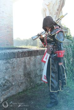 Shay Patrick Cormac cosplay from Assassin's Creed Rogue by Kaiserin art + cosplay www.facebook.com/kaiserinpanny