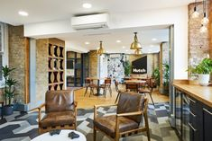A Tour of Hutch's Cool New London Office - Officelovin' Red Studio, Office Moving, Minimalist Office, New London, Design Firms, Office Interiors, Cool Stuff, House, Offices