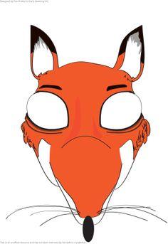 Begeleide of zelfstandige activiteit - Masker De Gruffalo