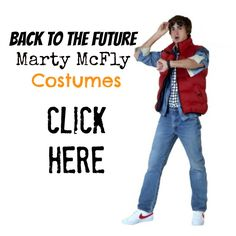 Back to the Future Marty McFly Costumes for #Halloween and 80's theme parties. Who doesn't want to be Marty McFly?