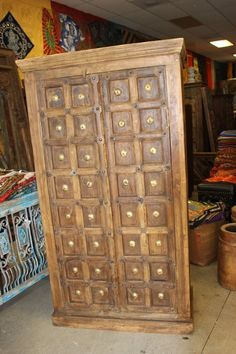 27 Super Ideas For Bedroom Vintage Wardrobe Storage Wooden Wardrobe, Bedroom Wardrobe, Vintage Wardrobe, Wardrobe Closet, Vintage Armoire, Bedroom Vintage, Antique Cabinets, Wooden Cabinets, Cupboards
