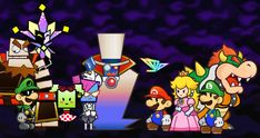 super paper mario mimi transformation - Google Search