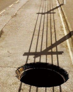 guitare ombre sur la route