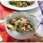 Cavolini di Bruxelles e quinoa