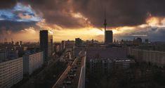 Berlin - Skyline PanoDrama by Jean Claude Castor