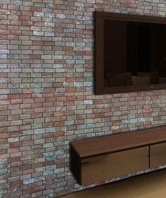 Terre Copper Offset Brick Tile