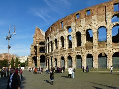 Rome, Italy Colosseum by army.arch, via Flickr